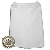 Парео вафельное белое XXL (75 см*160 см)