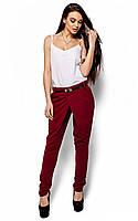 M-L / Стильные женские брюки Odry, марсала