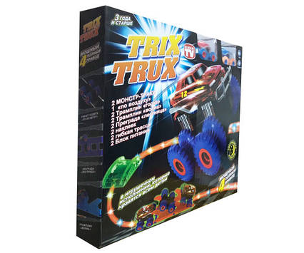 Машинка монстр-траки Trix Trux (15 деталей)