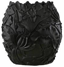Ваза Лотос чорна 70x40x80 см