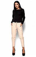 S, M, L / Стильные женские брюки Missa, бежевый