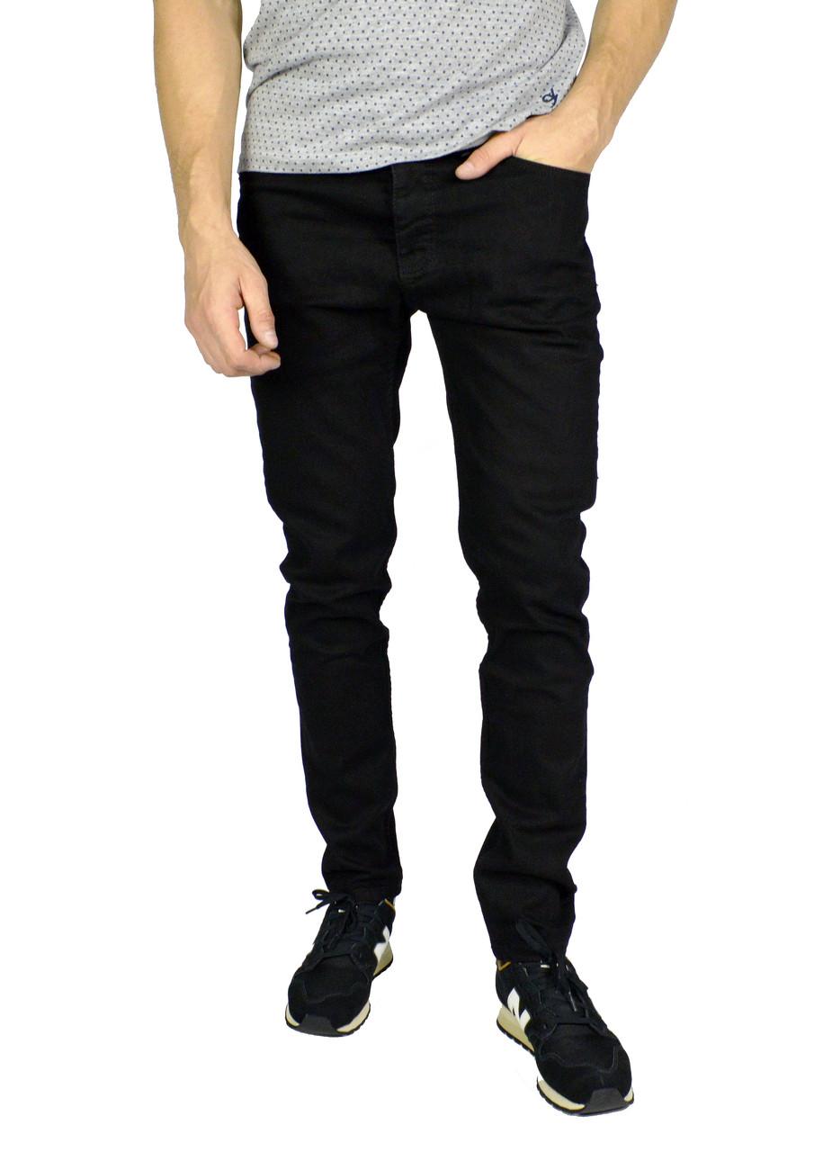 Черные однотонные мужские джинсы ARMANI