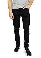 Черные однотонные мужские джинсы ARMANI, фото 1