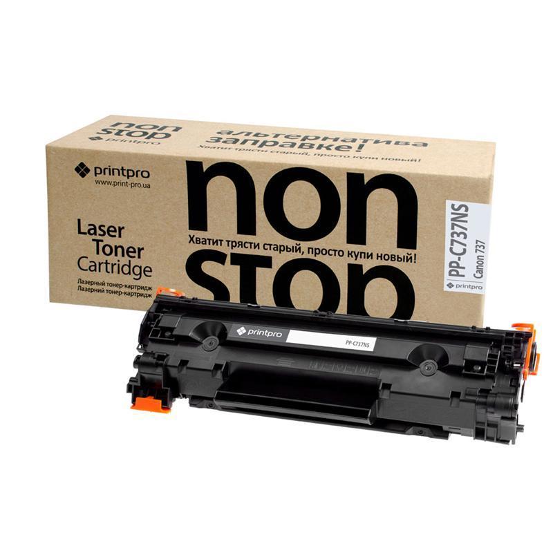 Картридж PrintPro NonStop (PP-C737NS) Canon MF211/MF212W/MF216N (аналог Canon 737)
