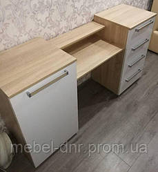 Стол туалетный Лагуна 2 без зеркала 1500*821*400 SV Мебель