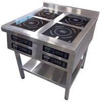 Плита индукционная на 4 комфорки (3.5 кВт)
