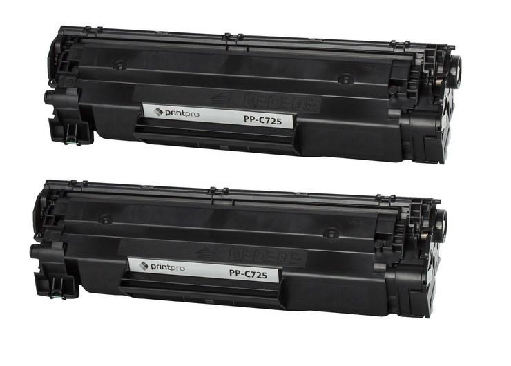 Картридж PrintPro (PP-C725DP) Canon LBP6000 (аналог Canon 725/712/CE285A) Dual Pack