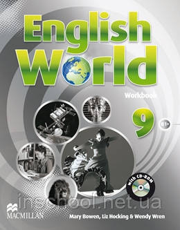 English World 9 Workbook with CD-ROM ISBN: 9780230441323, фото 2