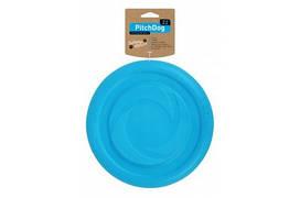 Collar PitchDog летающая тарелка для апортировки, диаметр 22 см, голубая