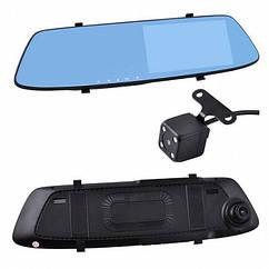 Зеркало-видеорегистратор L-1001C+5 выносная камера Full HD