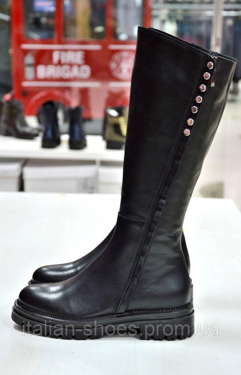 Зимние черные сапоги Imma -770