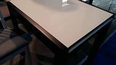 Стеклянный стол на кухню  Слайдер + стекло Fn, цвет на выбор, фото 3