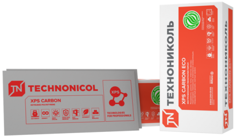 Экструдированный пенополистирол Carbon Eco 1180*580*50мм