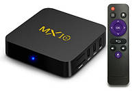 Смарт приставка Smart TV MX10 4 Гб / 32 Гб Android 7.1.2, фото 2