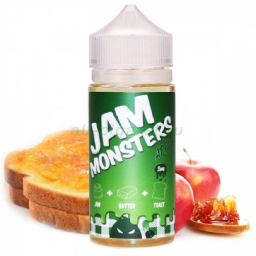 Жидкость для электронных сигарет JAM Monster разные вкусы никотин 0-3-6
