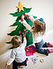 Елка из фетра с игрушками - 4 вида, фото 7