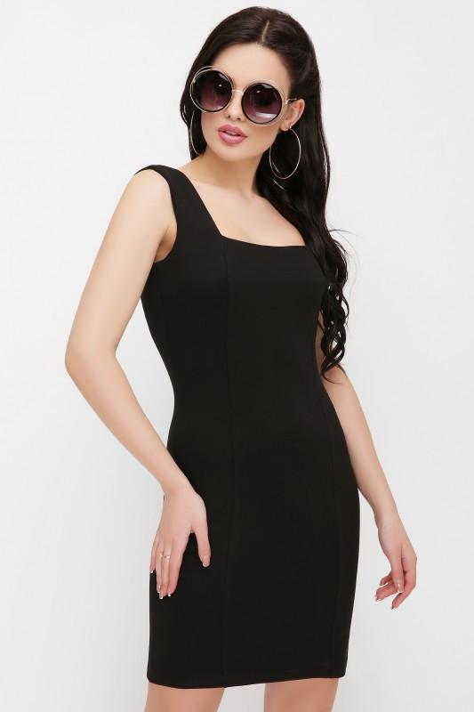 Маленькое платье короткое черное (чёрный)
