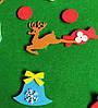 Елка из фетра с игрушками - 4 вида, фото 10
