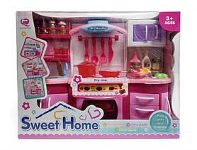 Игровая кухня для кукол Sweet House со светом и звуком 2801S