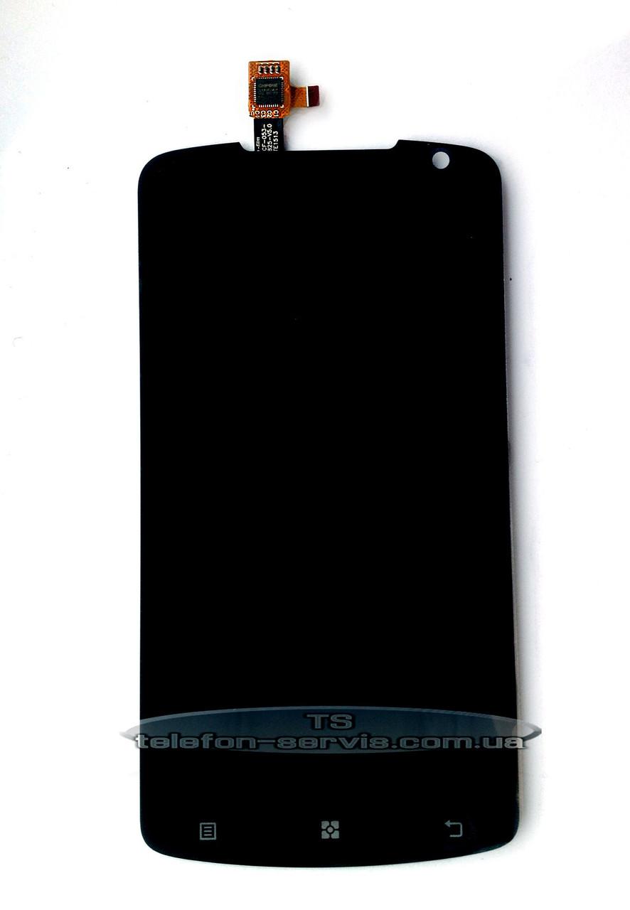 Дисплей Lenovo S920, чорний, з тачскріном