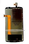 Дисплей Lenovo S920, чорний, з тачскріном, фото 3