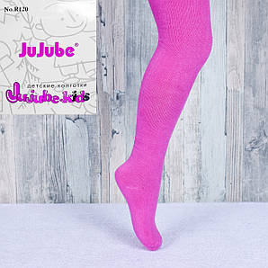 Детские махровые однотонные колготки Jujube R120-2 92-104