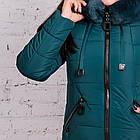 Женское зимнее пальто с экомехом 2019 - (модель кт-377), фото 4