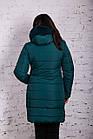 Женское зимнее пальто с экомехом 2019 - (модель кт-377), фото 3