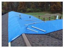 Накрытие крыши