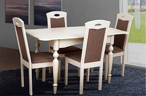 Стол раскладной Омега белый, фото 2