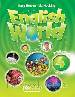 English World Level 4 Pupil's Book + eBook Pack ISBN: 9781786327086