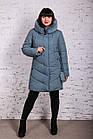 Женское элегантное зимнее пальто баталы 2018-2019 - (модель кт-371), фото 2