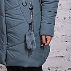 Женское элегантное зимнее пальто баталы 2018-2019 - (модель кт-371), фото 4