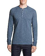 Лонгслив Eddie Bauer Men's Basin Henley Shirt L