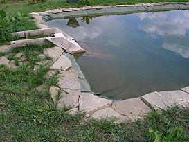 Герметизация дна искусственного водоема 3
