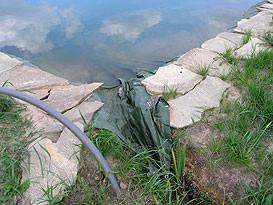 Герметизация дна искусственного водоема 4