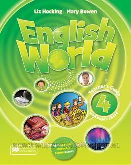 English World Level 4 Teacher's Book + eBook Pack ISBN: 9781786327253