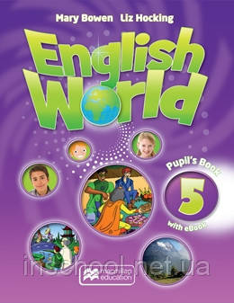 English World Level 5 Pupil's Book + eBook Pack ISBN: 9781786327093