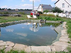 Герметизация дна искусственного водоема