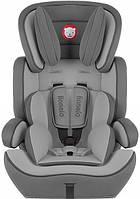 Автокрісло дитяче LIONELO LEVI 9-36 кг сіре (Крісло дитяче для машини), фото 1