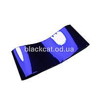 Фольга для литья синяя глянцевая