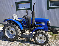 Трактор ДТЗ 5244НРХ (30л.с., 3 цил., КПП 9+9, 4х4, ГУР, колеса 6.50-16/11.2-24)