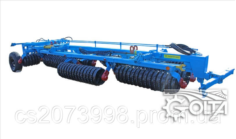 Каток зубчато-кольчатый гидрофицированный  КЗК-12,5П-02