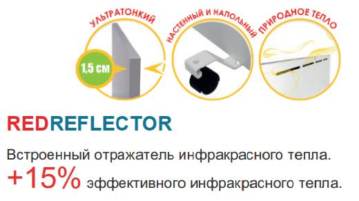 устройство инфракрасного панельного обогревателя ENSA P750