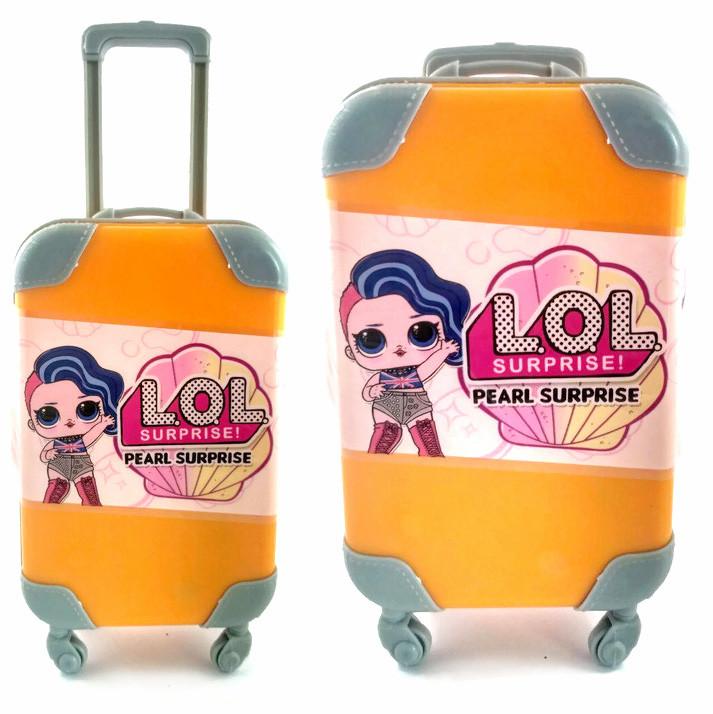 Кукла-сюрприз Лол (LOL) в Желтом чемоданчике