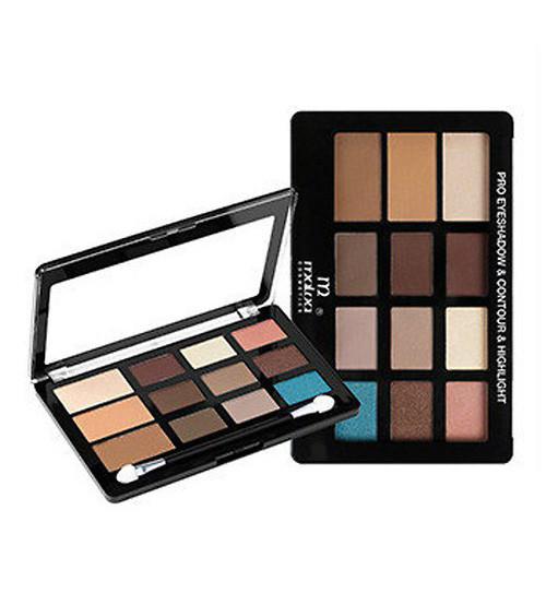 Палитра для макияжа М493 Malva Cosmetics Pro Eye Shadow Countour&Highlight Палитра №1(Тени_Malva-М493-1)