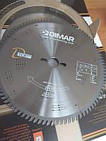 Пила DIMAR DFSQ D-TOP 300 96Z 3.2/2.2 d=30. Знешумлена із покращеним твердосплавом