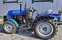 Трактор DW 404АD(40 л.с., 4 цилиндра, 4х4, ГУР, доп. грузы, колеса 7.50-16/11.2-24 2-хдиск.сцепление), фото 1