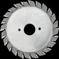 Пила підрізна DIMAR MVF 125 24Z 2.8-3.6 d22, складна, двокорпусна