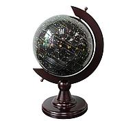 Глобус ночное небо из полудрагоценного камня топаз S22001